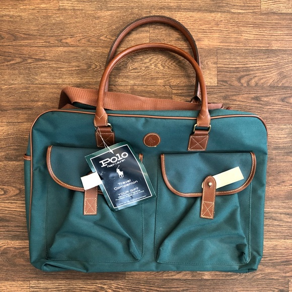 Polo Ralph Lauren Green Travel Duffle Bag b04577a49670d